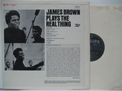 画像2: JAMES BROWN / Plays The Real Thing