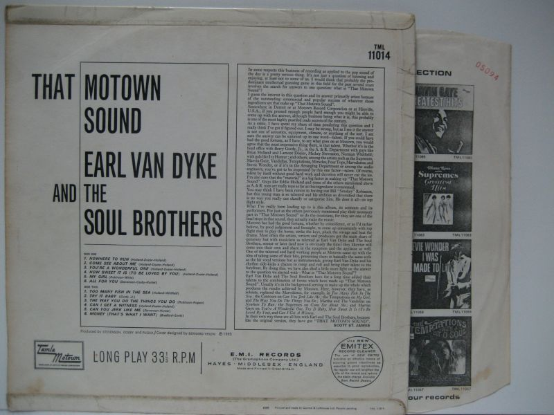 Earl Van Dyke The Soul Brothers The Flick