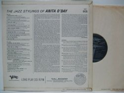 画像2: ANITA O'DAY / The Jazz Stylings Of Anita O' Day