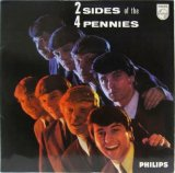 FOUR PENNIES / 2 Sides Of 4 Pennies
