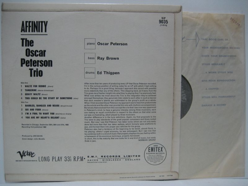 354 furthermore 196885 additionally Oscar Peterson Trio Affinity moreover Moreinfo further Debby. on oscar peterson waltz for debbie