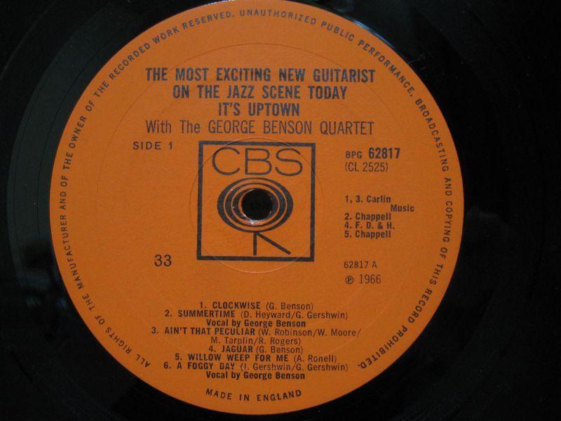 The George Benson Quartet Summertime - Ain't That Peculiar