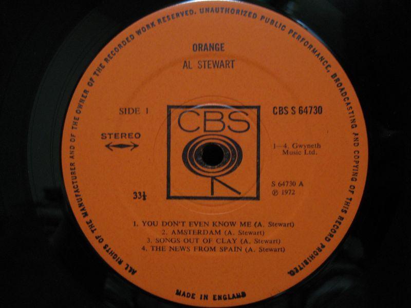 Al Stewart - Orange